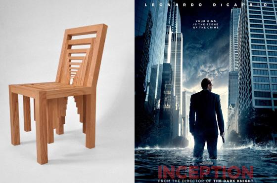 Inception: il Blu-Ray, la trottola, la valigetta... la sedia!!