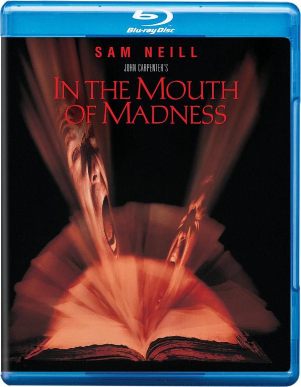 Il seme della follia in Blu-Ray!