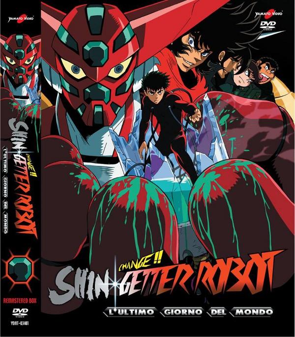 La cover di Shin Getter Robot!