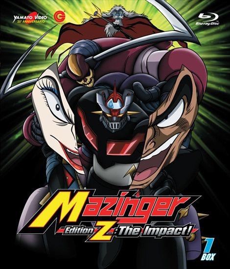 Shin Mazinger è il primo Nagai in Blu-Ray!