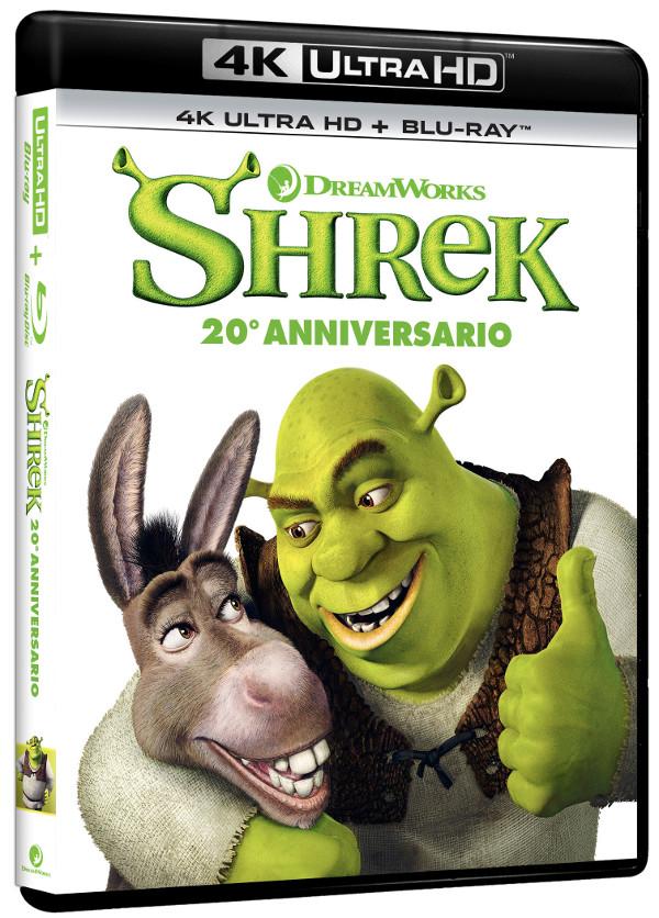 20 anni di Shrek in 4K!