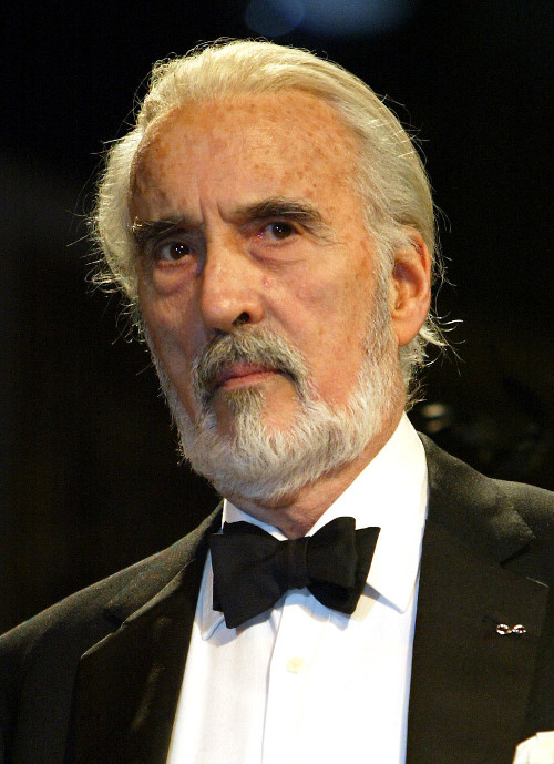 QUADRI DEL CINEMA: Christopher Lee
