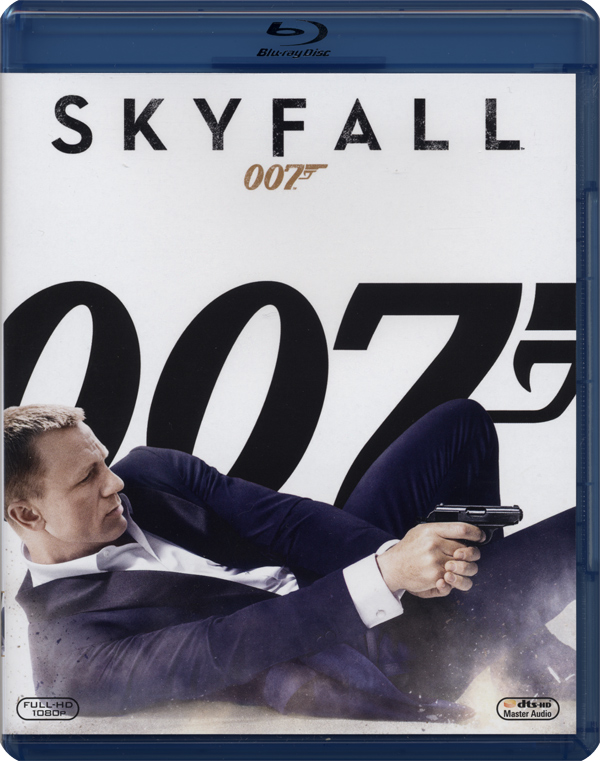 Skyfall: uno sguardo al Blu-Ray disc!