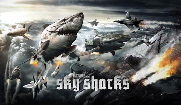 Gli squali volano di nuovo... con i nazisti!