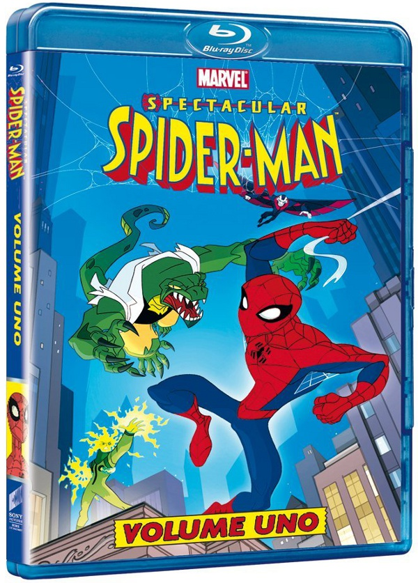 Spider-Man fra cinema e Blu-Ray!