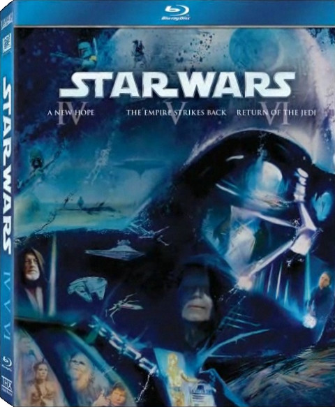 Star Wars Blu-Ray: la cover del secondo cofanetto!!!