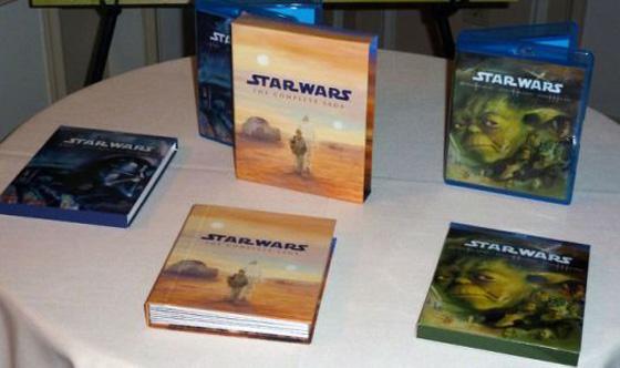 Star Wars in Blu-Ray: prima foto dei cofanetti!