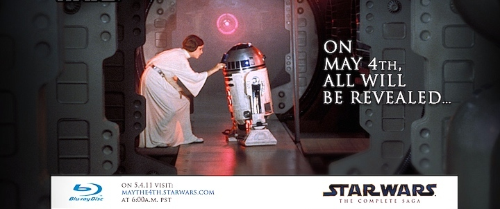 Star Wars in Blu-Ray: il 4 maggio tutto sarà rivelato!