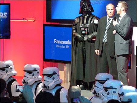 Presentazione Star Wars Saga Blu-Ray Ces 2011