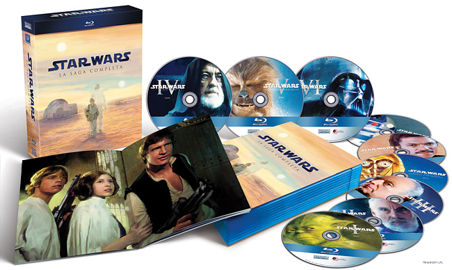 Star Wars Saga Blu-Ray Italiano<#alt# alt=