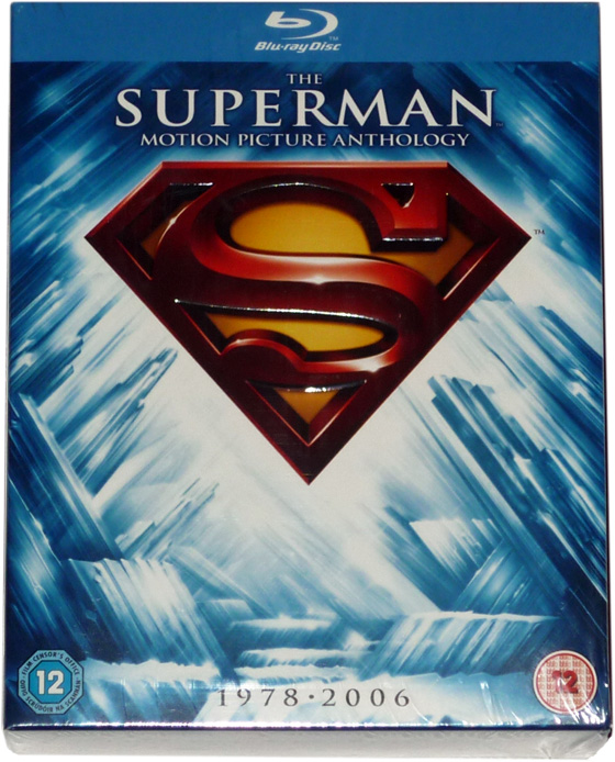 Superman Box Blu-Ray Cover