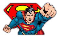 Superman scalda i muscoli!