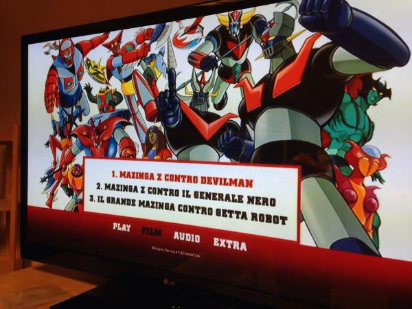I menu dei Super Robot!
