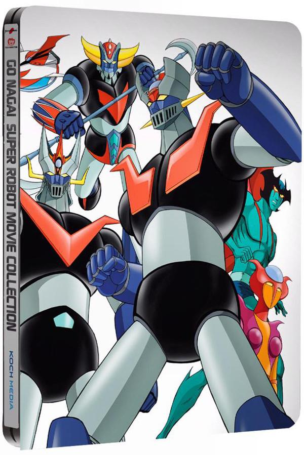 Robot di Go Nagai: vediamo la Steelbook!