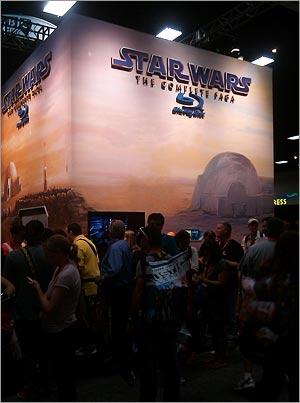 Dal Comic-Con nuovi dettagli sui Blu-Ray starwarsiani!!