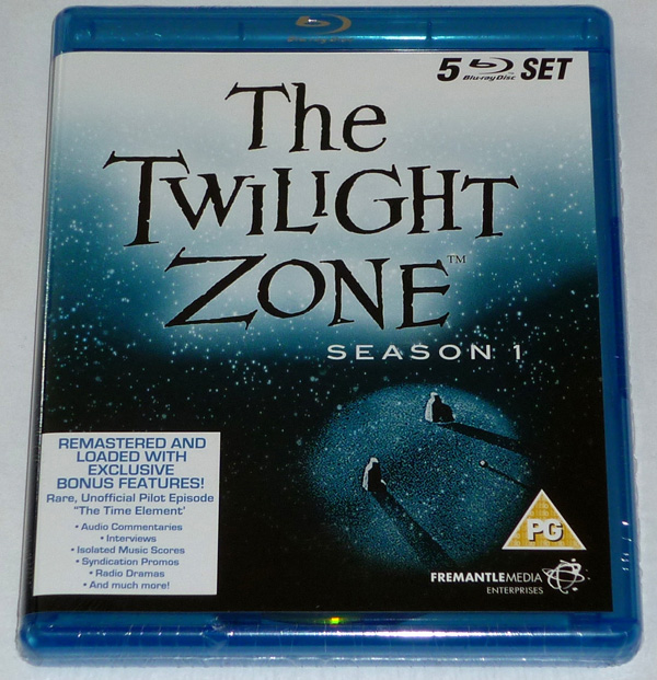 Il primo cofanetto Blu-Ray di The Twilight Zone!