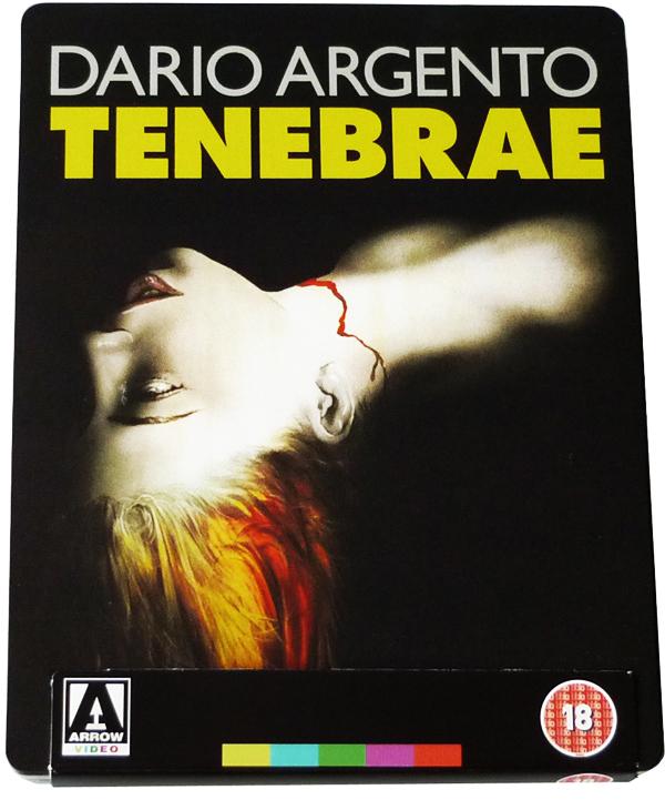 Il nuovo Blu-Ray di Tenebre... ha visto la luce!