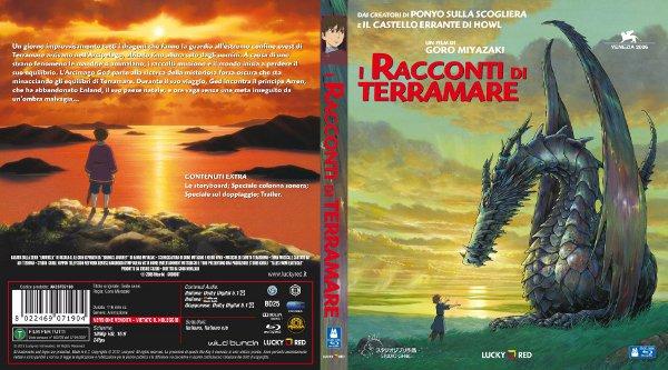 Ancora su Terramare: la fascetta del Blu-Ray!