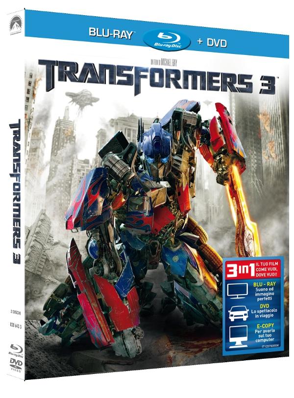 Transformers 3: le edizioni dentro e fuori!