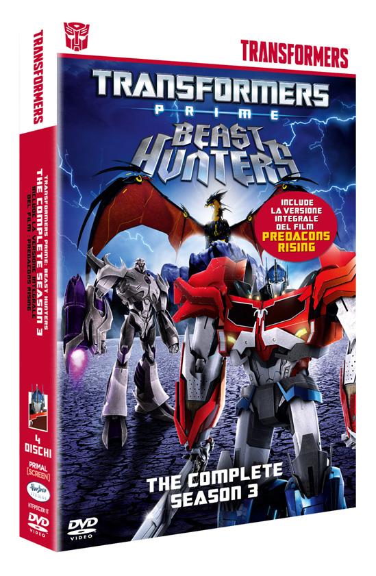 Anche Transformers Prime stagione 3 in cofanetto!