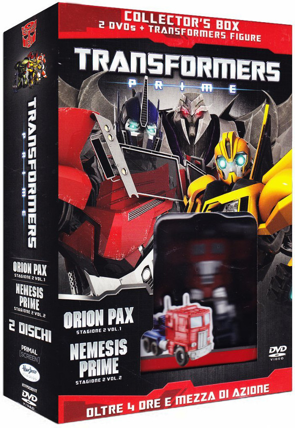 Disponibile l'edizione speciale di Transformers Prime