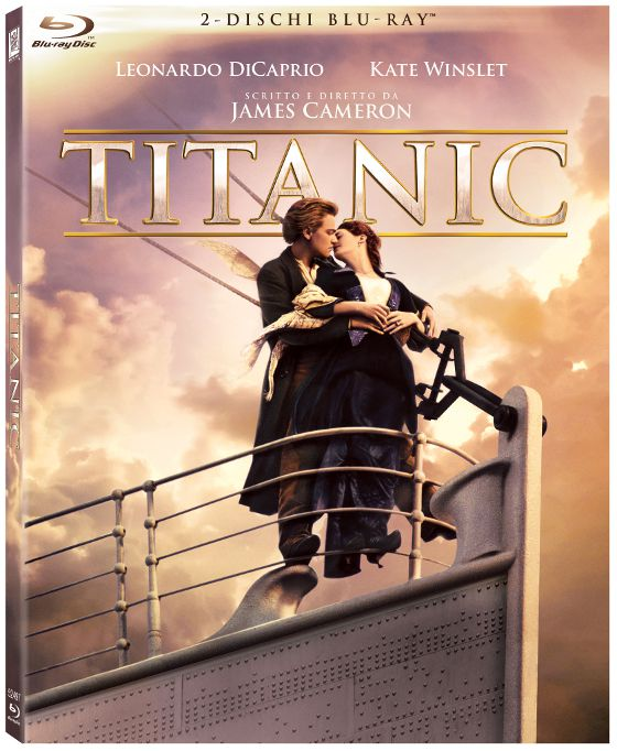 Titanic: i Blu-Ray Disc a catalogo!