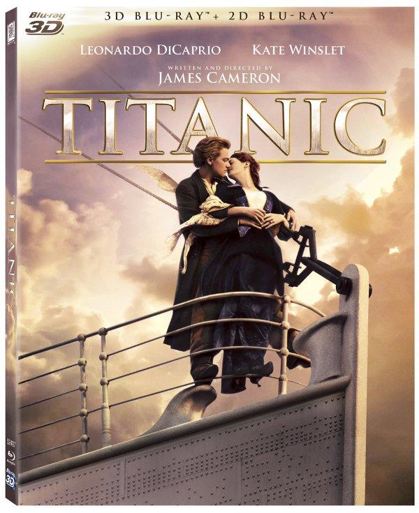 Titanic in  Blu-Ray 3D e 2D dal 14 settembre!