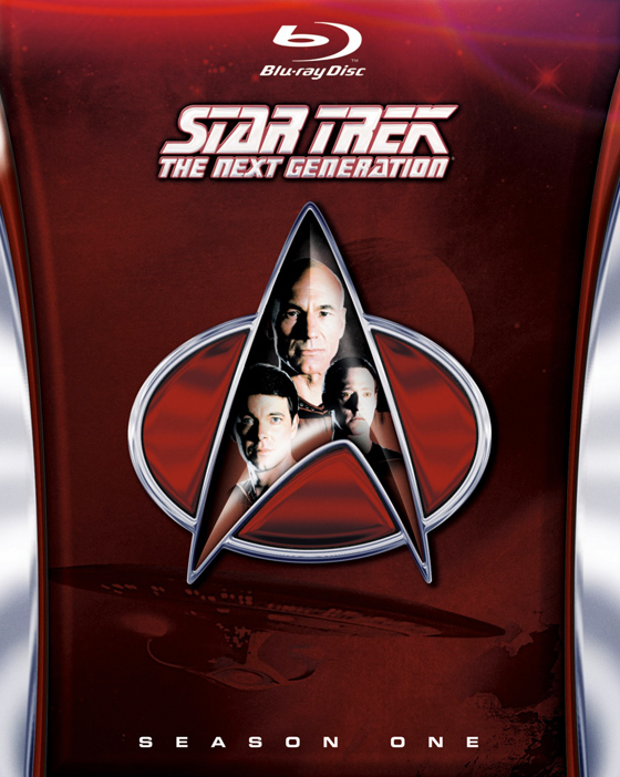 Star Trek TNG: prima stagione in Blu-Ray!