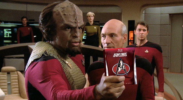 Star Trek TNG: glitch nell'audio inglese