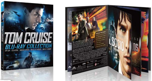 Tom Cruise in cofanetto Blu-Ray Disc!