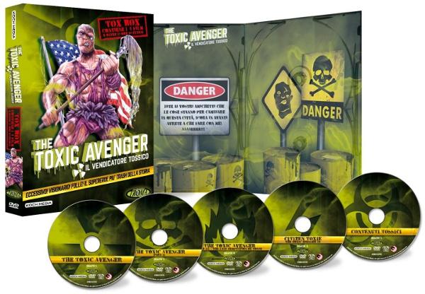 Toxic Avenger: qualche info in più sul cofanetto...