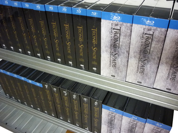 Cronache dal magazzino: Il Trono di Spade stagione 2!