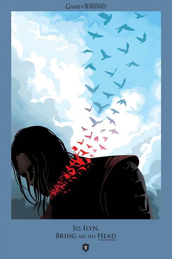 Tutte le morti del Trono di spade in poster!