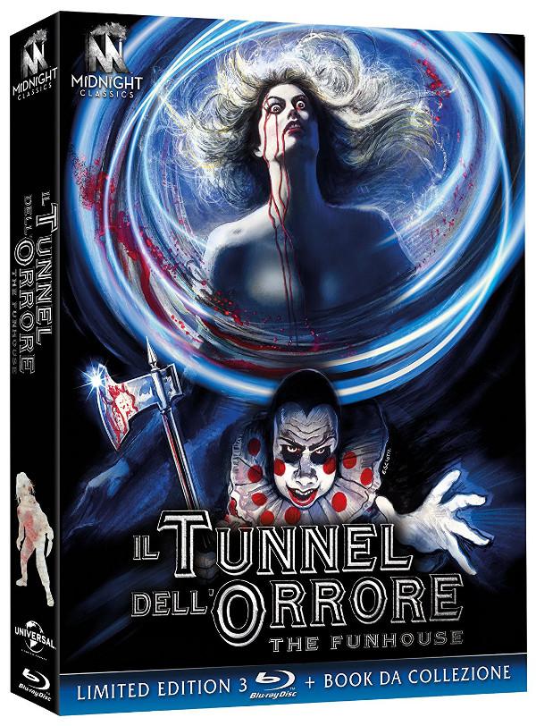 Il tunnel dell'orrore illustrato da Enzo Sciotti!