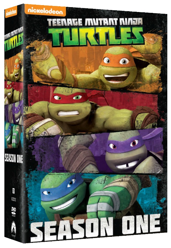 Tartarughe Ninja fra cinema e DVD