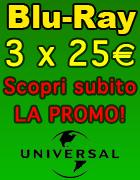 Promozione Blu-Ray 3 a 25 Euro - Offerta in Esclusiva su Dvdweb.it