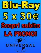 Promozione Blu-Ray 5 a 30 Euro - Offerta in Esclusiva su Dvdweb.it