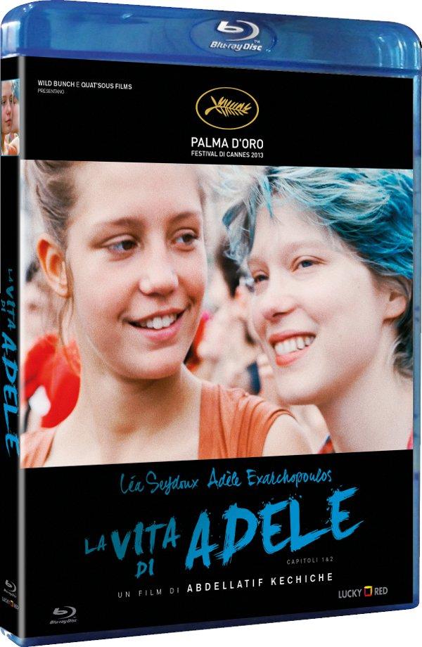 Il blu (ray) è un colore caldo: arriva La vita di Adele!