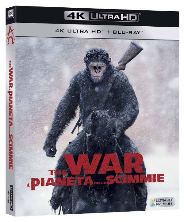 Il pianeta delle scimmie: la guerra è servita!