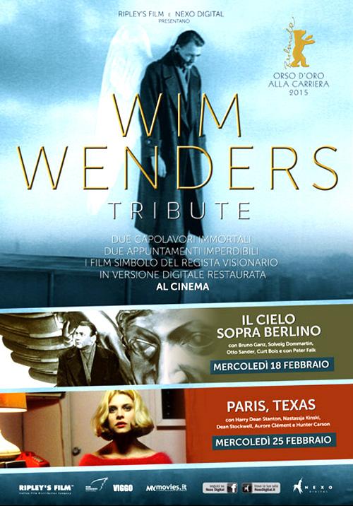 Due capolavori di Wim Wenders tornano al cinema!