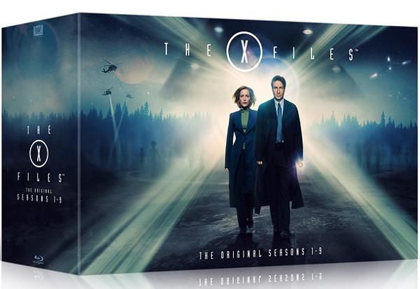 Il cofanetto Blu-Ray di X-Files è là fuori!