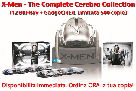 X-Men Saga - Cerebro Edizione Limitata in vendita su Dvdweb.it