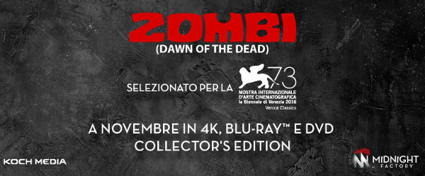 UPDATE su Zombi e l'artwork...