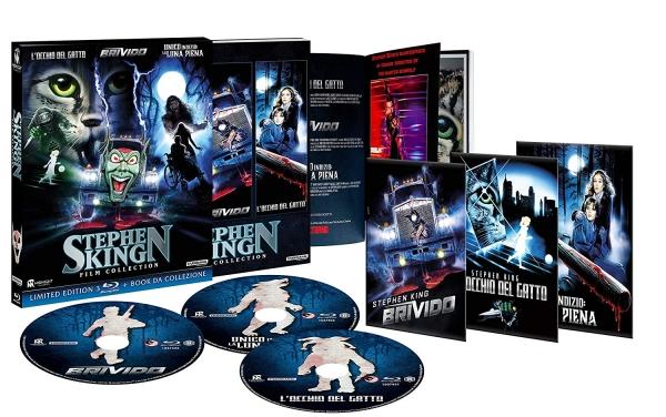 Packshot e contenuti della Stephen King Film Collection!