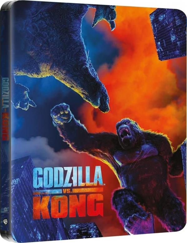Godzilla vs Kong: gallery della steelbook!